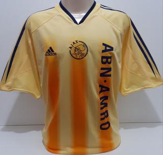 Camisa Ajax Amarela Da Holanda 2004 E 2005 adidas - Am