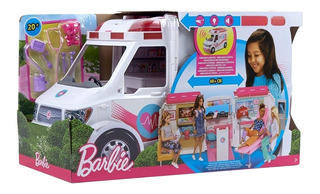 Barbie Vehiculo Ambulancia Care Clinic Clinica Cuidados