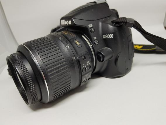 Câmera Nikon D3000 + Grátis Bolsa + Acessórios +frete Grátis