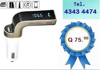 Transmisor Bluetooth Fm Para Radio De Carro