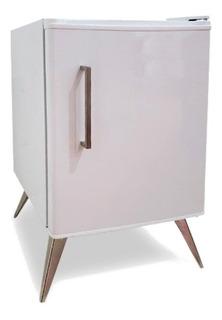 Heladera Bajomesada Frigobar Vintage 48l Retro Congelador