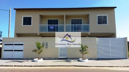 Apartamento Com 2 Dormitórios À Venda, 57 M² Por R$ 178.000,00 - Jardim Atlântico Leste (itaipuaçu) - Maricá/rj - Ap0064