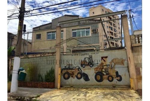 Imagem 1 de 10 de Galpão Com Energia Trifasica - 600m2 Na Vila Formosa !!
