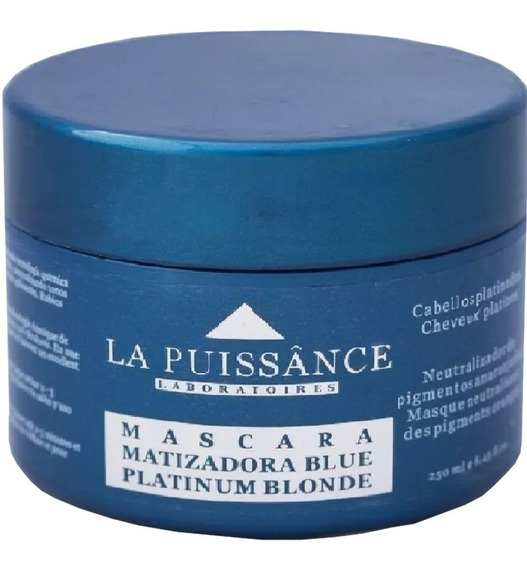 Máscara Platinium Blue La Puissance