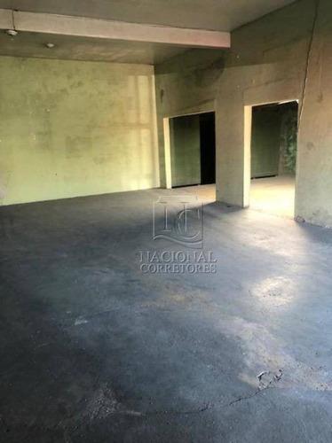 Salão Para Alugar, 362 M² Por R$ 5.900,00/mês - Vila Camilópolis - Santo André/sp - Sl0983