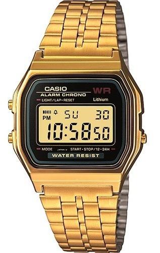 Relógio Casio A159wgea-1df Dourado 100% Original C/ Garantia