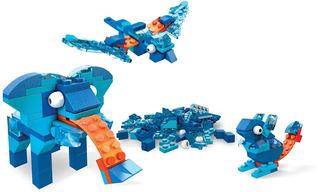 Set Bloques Mega Construx Inventions Azul 100 Piezas