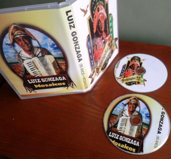 2 Dvd - Luiz Gonzaga (95 Anos + Mosaico) Frete Grátis