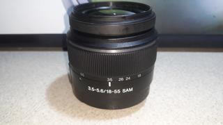 Lente Sony 18-55 3.5/5.6 Sam