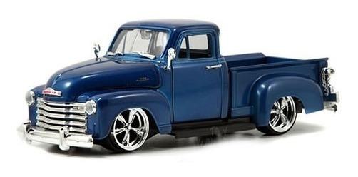 Miniatura Chevy Pickup 1953 Azul Jada Toys 1/24
