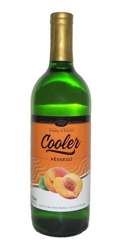 Cooler Vinho Branco C/ Suco De Pêssego - Terra Do Vinho