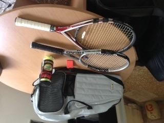 Juego De Raquetas Tenis Y Bulto Profesionales