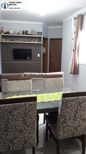Imagem 1 de 5 de Apartamento Cobertura 2 Dormitórios E 1 Vaga No Parque Das Nações - 2124