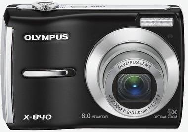Câmera Digital Olympus X-845 8.0 Megapixel 5x / Sem Bateria