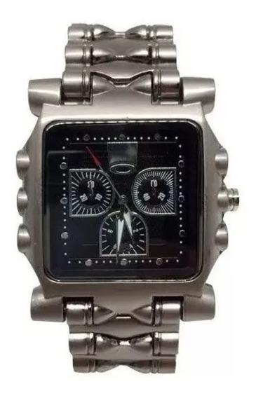Relógio Oakley Tank Minute Machine - Preto