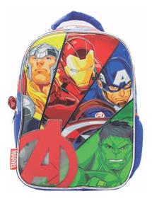 Mochila Espalda Jardin Vengadores Avengers Mundo Manias