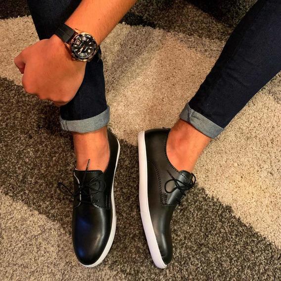 Zapato Sport Simil Cuero