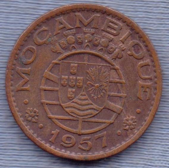 Mozambique 1 Escudo 1957 * Colonia Portuguesa *