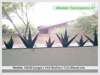 Picos De Seguridad Perimetral Para Bardas Modelo #7
