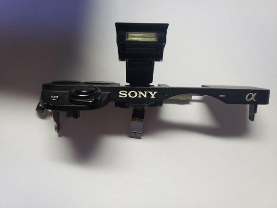 Painel Superior Sony A6300 Botões Flash