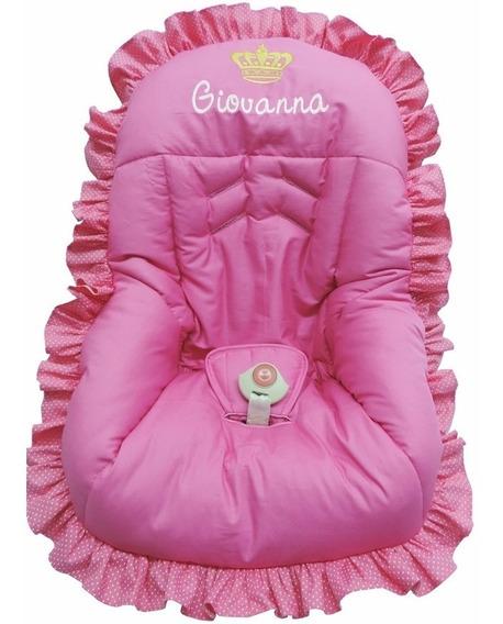 Capa Para Bebê Conforto Personalizado Pink
