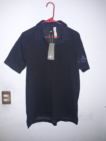 Playera Polo adidas Performance Z.n.e. Azul Talla M