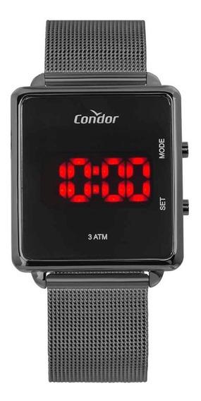 Relógio Condor Unissex Digital Led Cojhs31bac/4c Preto