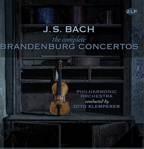 J.s. Bach Complete Brandenburg Concerti Vinilo Lp Nl Import