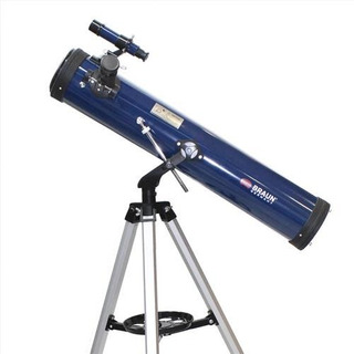 Telescopio Astronomico Profesional 350 Aumentos 700x76 Montura Altazimutal Microcentro
