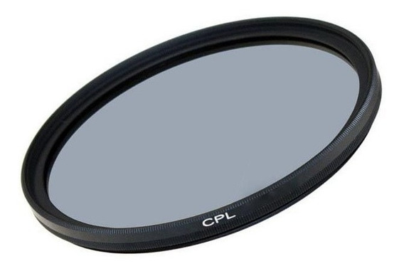 Filtro De Lente Polarizador 62mm Cpl Greika