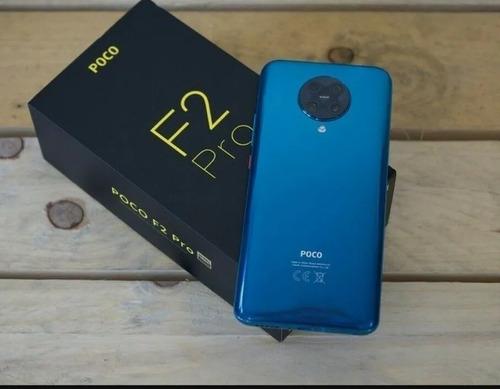 Imagen 1 de 2 de Xiaomi Poco F2 Pro 128gb 5g Neon Blue Unlocked Dual Sim