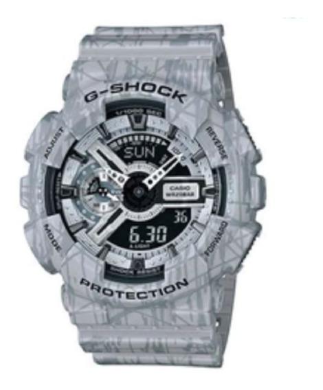 Relógio G Shock Ga400 Cinza Camuflado-liquidação De Estoque