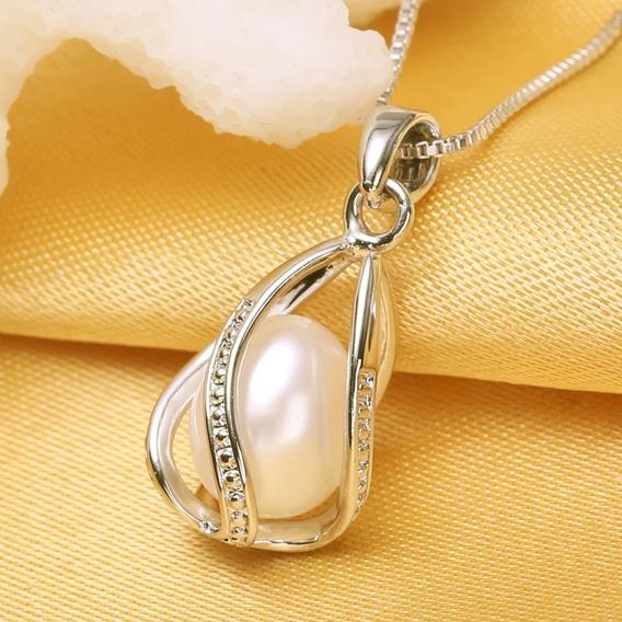 Correntinha Prata 925 Com Pérola Branca