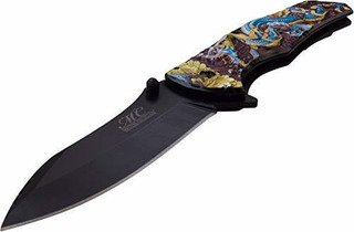 Mc A059gblcuchillo Con Resorte