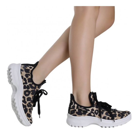 Tênis Zariff Shoes Animal Print 7745-30522