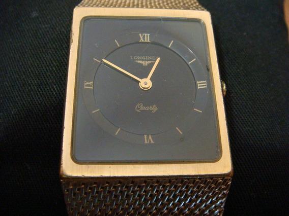 Reloj Longines Quartz Extra Plano P/caballero