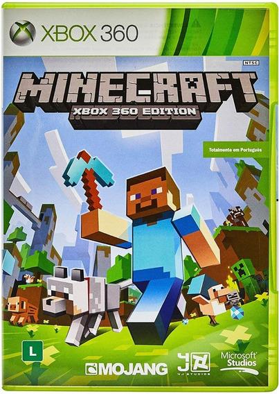Jogo De Xbox 360 Minecraft Xbox 360 Edition Usado