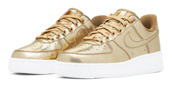Air Force 1 Metallic - Gold