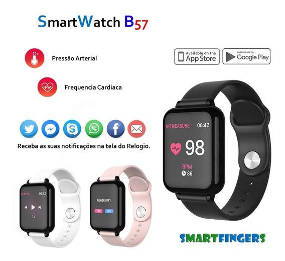 Relógio Smart Watch B57 Hero Band 3 Pressão Arterial E Cardiaca