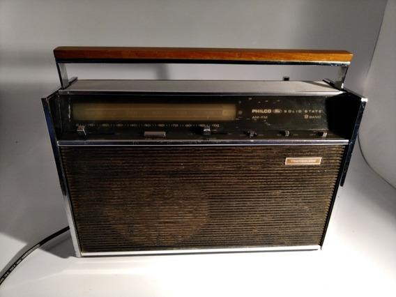Radio Antigo Transglobe Philco 9 Faixa