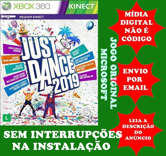 Just Dance 2019 Xbox 360 Midia Digital