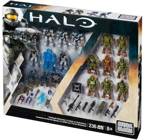 Set De Escaramuza Mega Construx Halo Exclusivo Outlands Des