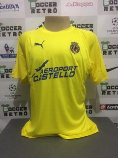 Camisa Villarreal 2005-06 Riquelme 8