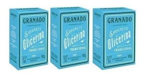 Sabonete Granado 90g Neutro (kit 3 X 90g)