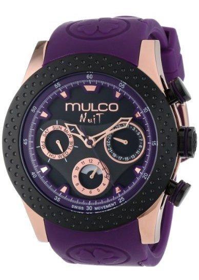 Mulco Mw5-1962-087 Reloj Analógico Suizo Cronógrafo