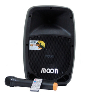 Bafle Moon Batt 8 Amplificado Batería Recargable + Mic