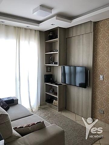 Imagem 1 de 16 de Ref.: 2082 - Apartamento Com Condomínio, 2 Quartos, 1 Vaga. Vila Palmares. Santo André. Sp. - 2082