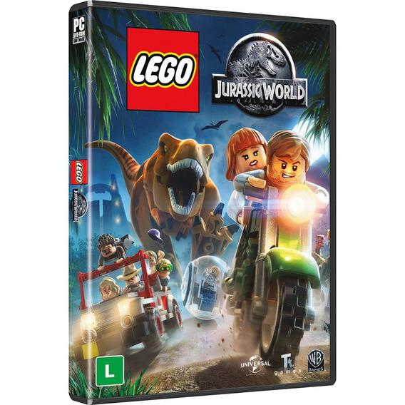 Jogo Lego Jurassic World Pc Computador Dublado Lacrado Novo