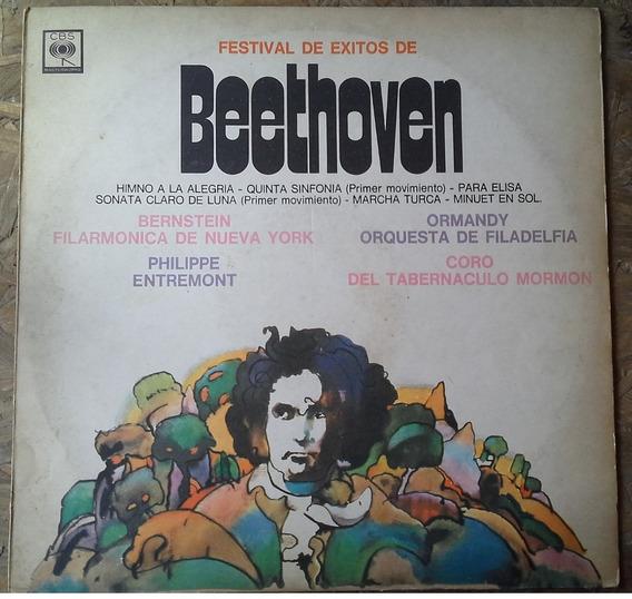 Disco De Vinilo Festival De Exitos De Beethoven