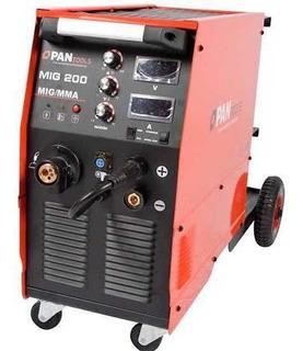 Máquina De Solda Inversora Mig/tig/mma 200a (j66) Mono 220v